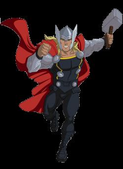 Thor clipart marvel avengers assemble