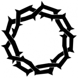 Thorns clipart fall among