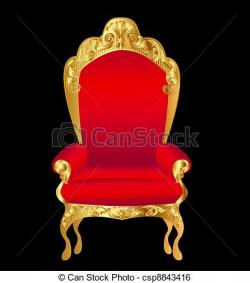 Throne clipart fancy