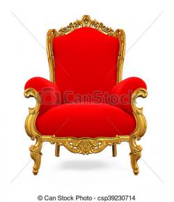 Throne clipart king chair