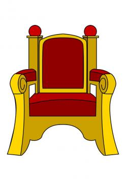Throne clipart large