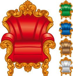 Throne clipart ornate