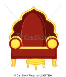 Throne clipart royal