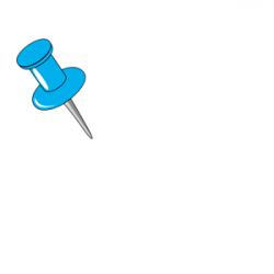 Thumb Tack clipart svg