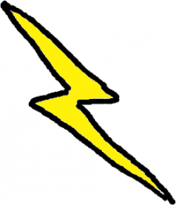Lightening clipart public domain