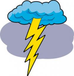 Lightening clipart thunder