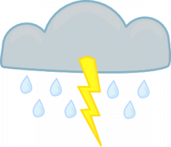 Thunderstorm clipart animated