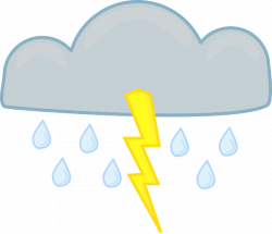 Thunderstorm clipart cartoon