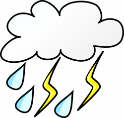 Thunder clipart hail storm