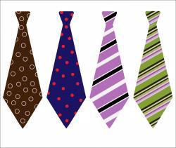Men clipart tie