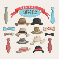 Funky clipart vintage