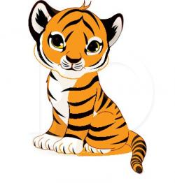 Photos clipart baby tiger