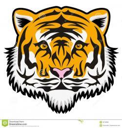 Bengal clipart tiger face