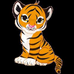 Bengal clipart tiger cub