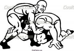 Wrestler clipart win