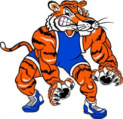 Wrestler clipart tiger