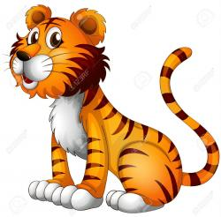 Legs clipart tiger