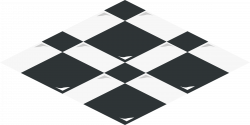 Tiles clipart black and white