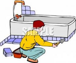 Tiles clipart cartoon