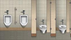 Tiles clipart public bathroom