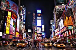 Times Square clipart america