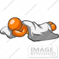 Resting clipart blanket
