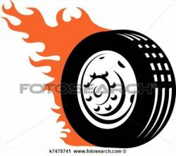 Tires clipart animated