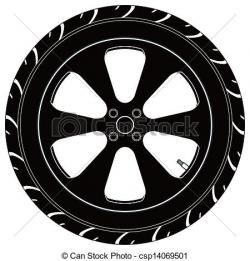 Tires clipart vector