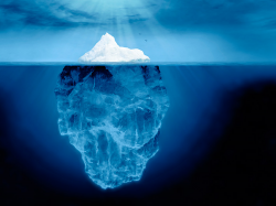Iceberg clipart underwater titanic
