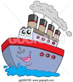 Titanic clipart steam boat