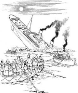 Titanic clipart survivor