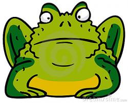 Cute clipart toad