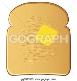 Butter clipart toast