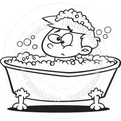Bathtub clipart bubble bath
