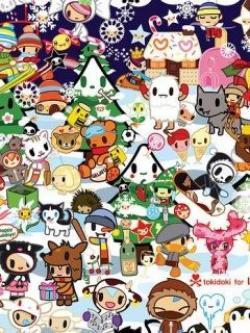 Tokidoki clipart cute pattern