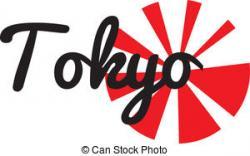 Tokyo clipart Tokyo Flag