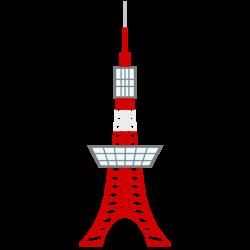 Eiffel Tower clipart tokyo tower