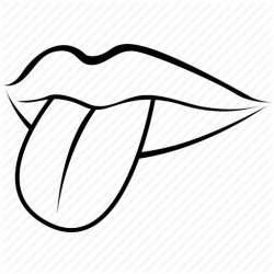 Drawing clipart tongue