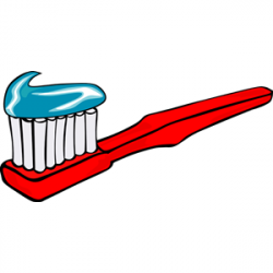 Toothbrush clipart animated
