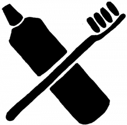 Toothbrush clipart icon