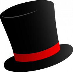 New Year clipart top hat