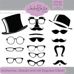 Spectacles clipart bushy eyebrow