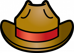 Indiana Jones clipart topi