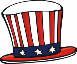 Top Hat clipart uncle sam