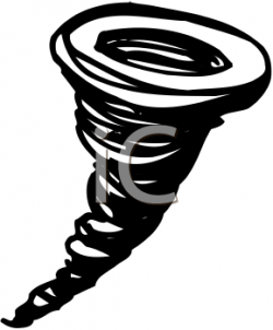Tornado clipart moves