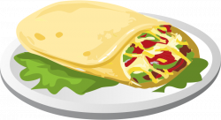 Bean clipart cheese burrito