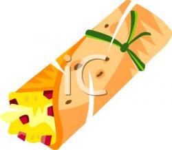 Taco clipart tortilla