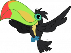 Cute clipart toucan