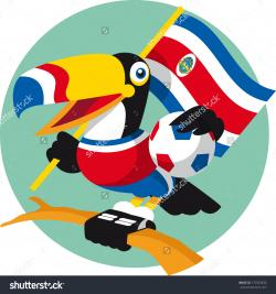 Toucanet clipart costa rica