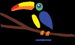 Toucan clipart hornbill